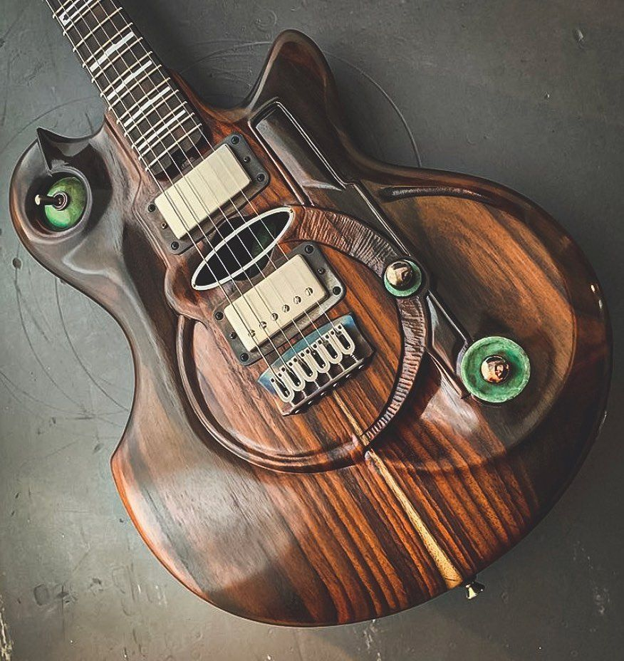 Introducing The M Tone 7 The Creation Of Guild Member Mtoneguitars Hand Carved Rosewood And Mahogany Hammered Copper And Guitar Guitar Amp Hammered Copper