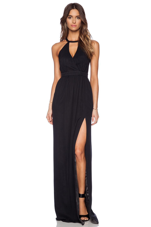 Jay Godfrey Dallenbach Backless Gown in Black | REVOLVE | love ...