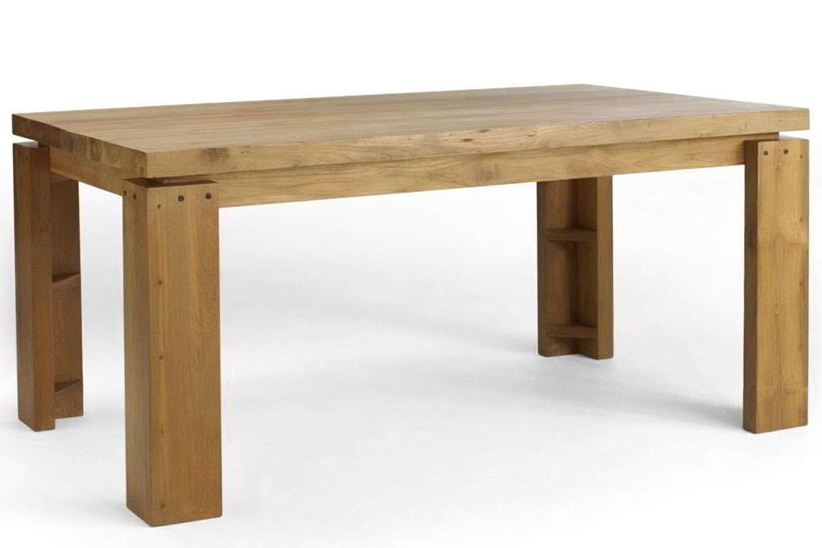 L Shaped Dining Table