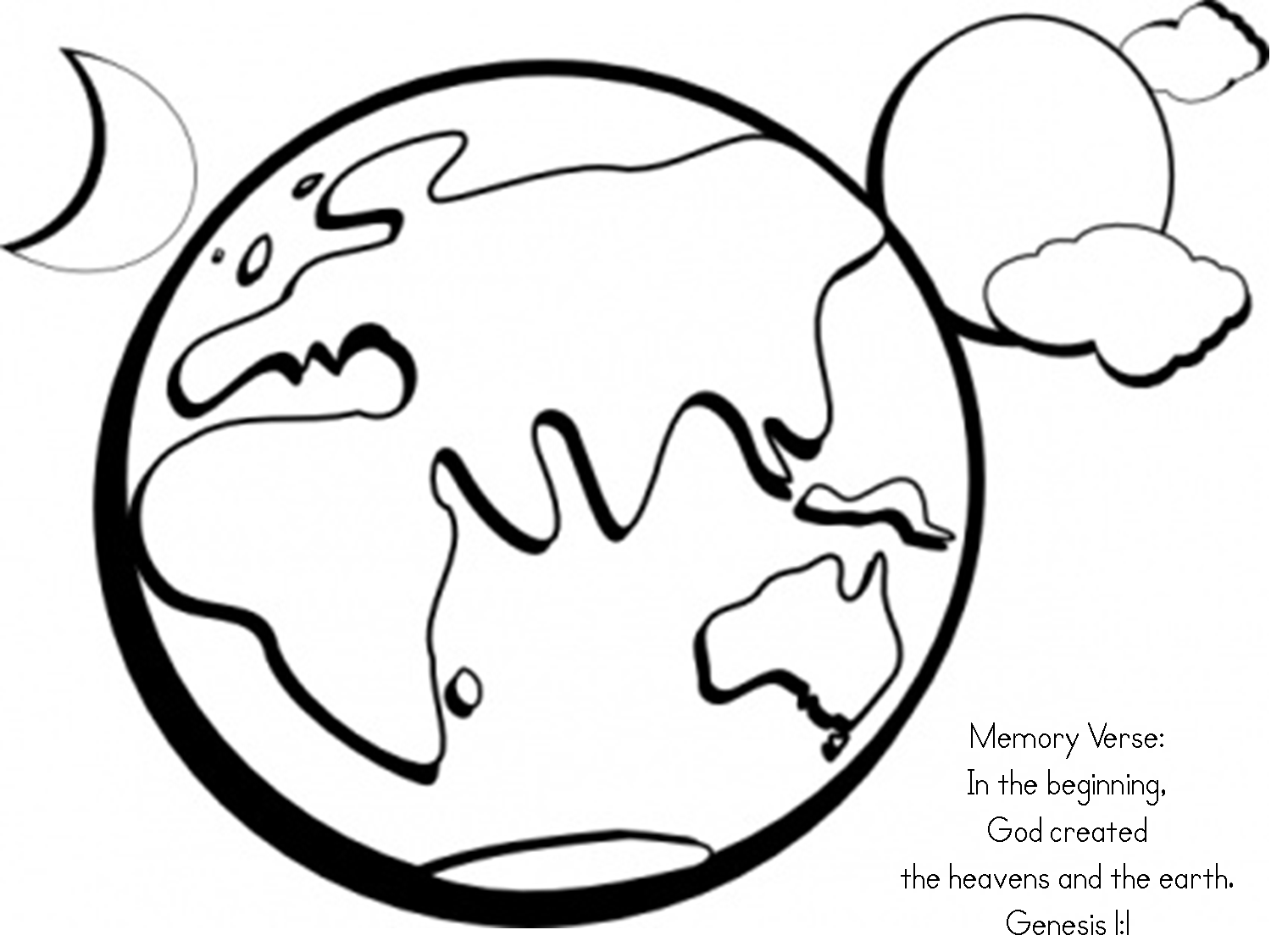 Jesus Storybook Bible Preschool Lesson Genesis 1 2 Earth Coloring Pages Bible Coloring Pages Earth Day Coloring Pages