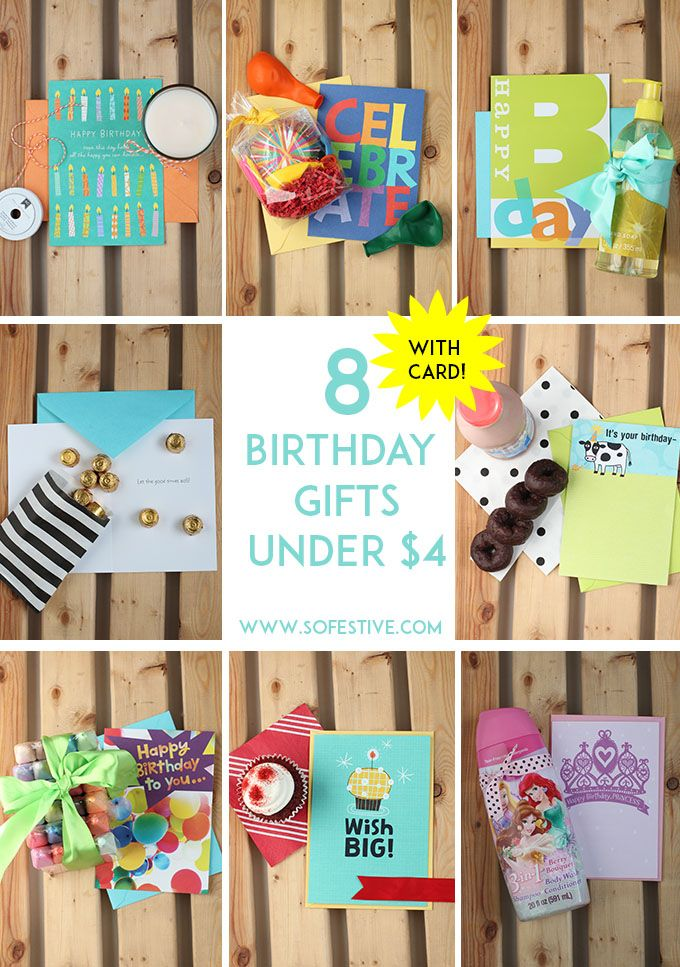Easy Fun DIY Birthday Ideas On A Budget 8 Great Gifts For Under 4 To Share Your Well Wishes With Anyone List Via Sofestive SendSmiles AD