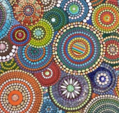 Ob bei Sonne oder Regen, besonders wenn Sie das Mosaik selber - steine im garten selbst gemacht