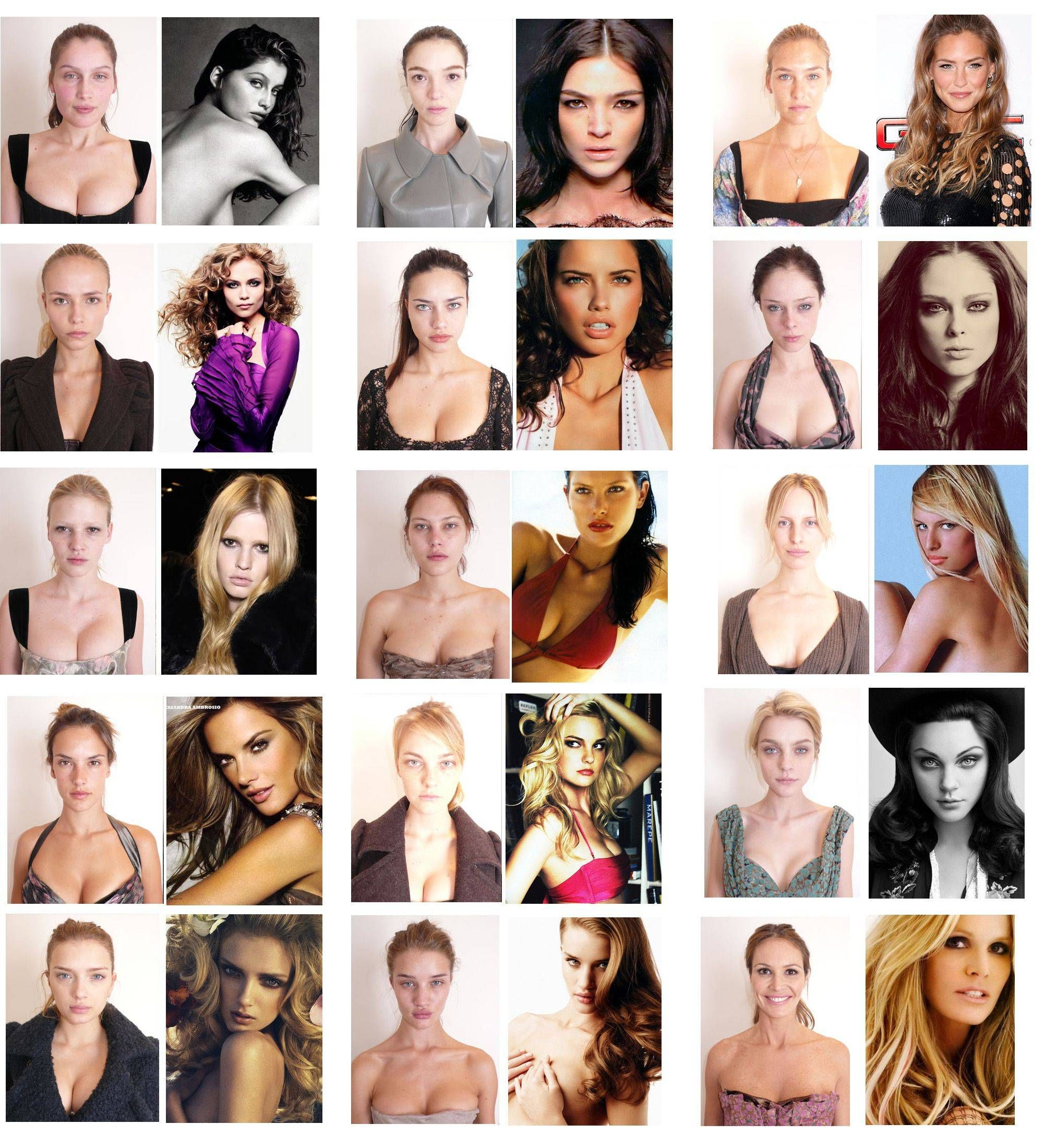 97 best images about Models/Celebs Without Photoshop on