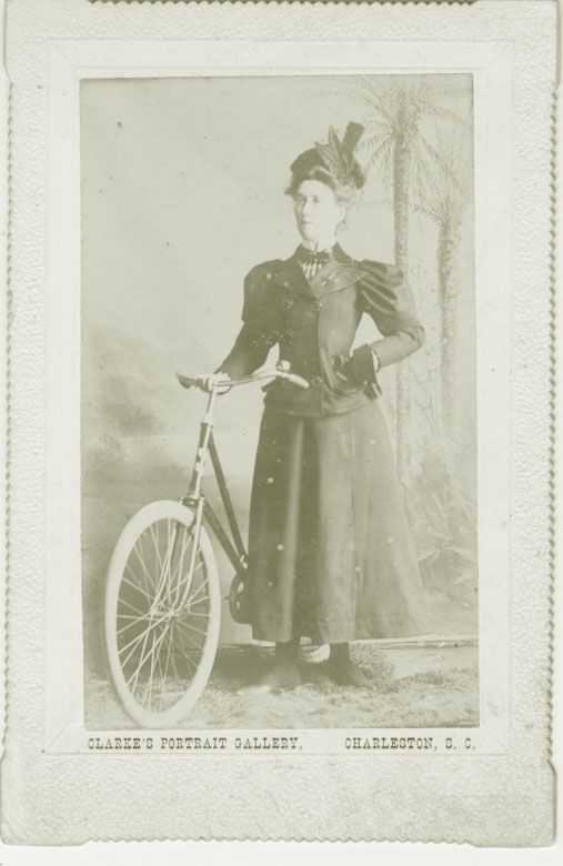 "(Image:  In 1900, 'Miss Waring' won a race associated with Charleston's Blockade Week festival.)  University Libraries, South Caroliniana Library - ""Visual Materials Division documents the people, places, and culture of South Carolina through a collection of 19th- and 20th-century photographs, postcards, illustrated newspapers, engravings, and lithographs. Other holdings include original artwork, sculpture, posters, blueprints, and architectural drawings."""