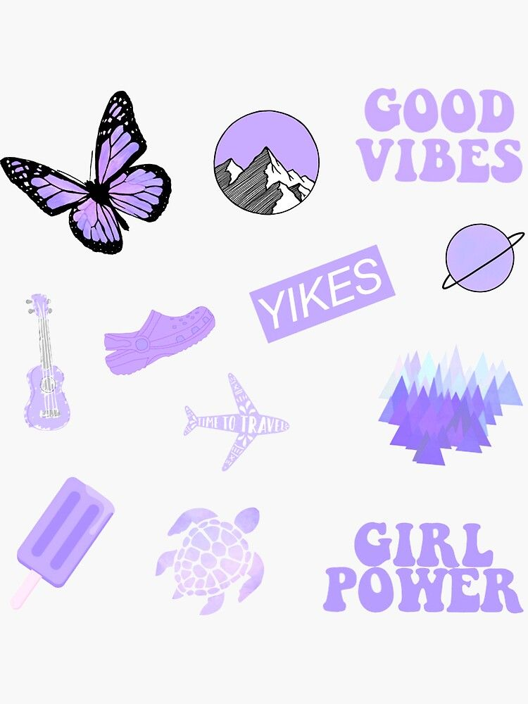 Hd wallpapers and background images 'Pastel Purple Pack' Sticker by sifasunny in 2021 | Purple