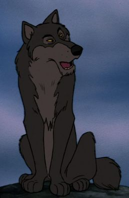 *AKELA~ like the other wolves,is seen at the beginning of the film.He appears when the pack learns that Shere Khan had returned to their part of the jungle. Akela states that Shere Khan wants to kill Mowgli and not even the strength of the entire pack could fight him off,so he has Bagheera take Mowgli to the Man-Village.Akela and the wolves are not seen again afterward.