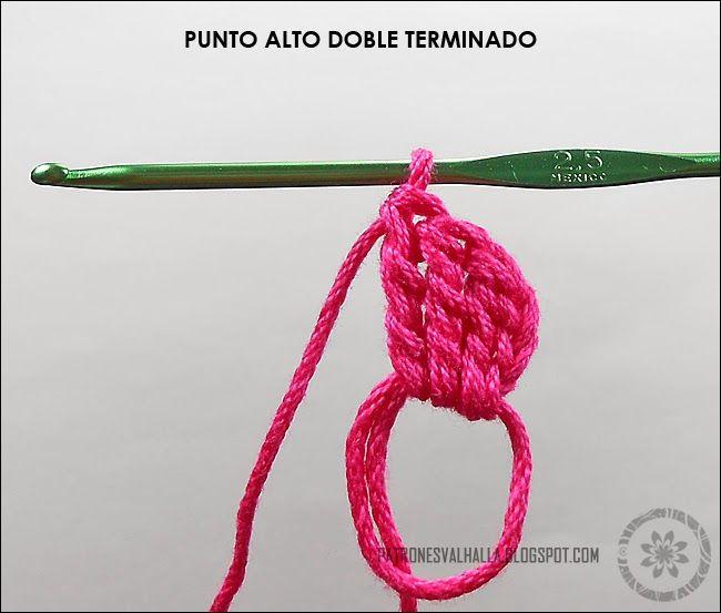 Corazones a Crochet (foto-tutorial) - PATRONES VALHALLA: Patrones ...