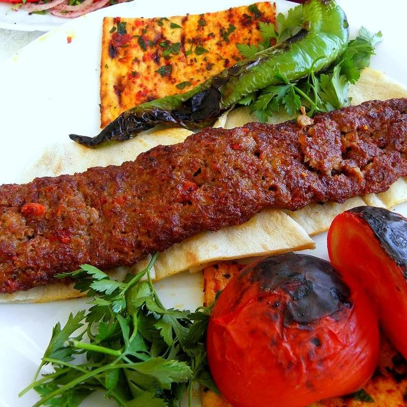 Kofta Kebab Plate Village Kebab Zmenu The Most Comprehensive