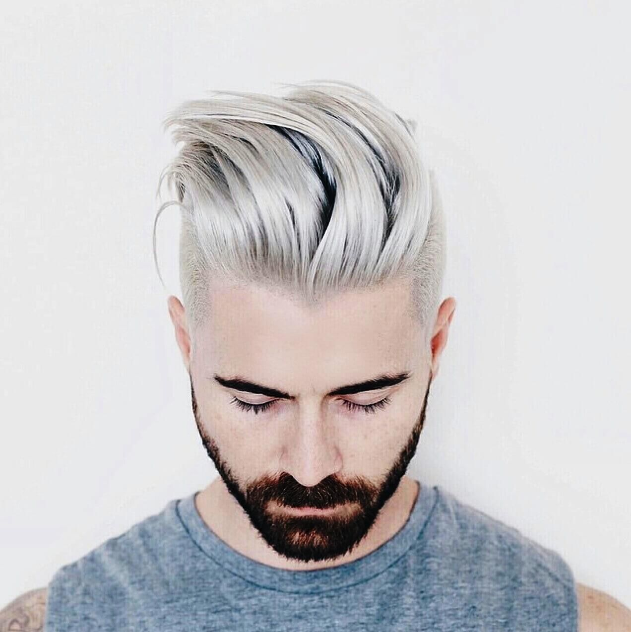 20 Unique Hair Color And Hair Dye Ideas For Men Men Hair Color