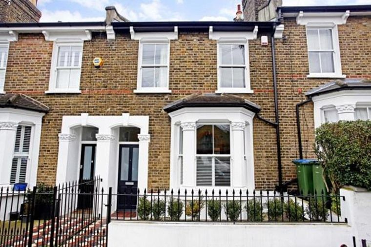 London brick victorian terrace google search houses uk for Victorian terraced house garden design