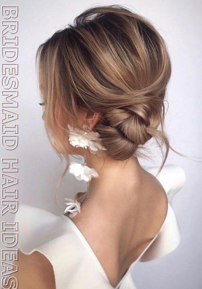 Best Bridesmaid HairStyles │ Should bridesmaids hair be up or down? Bridesmaid Hair Short