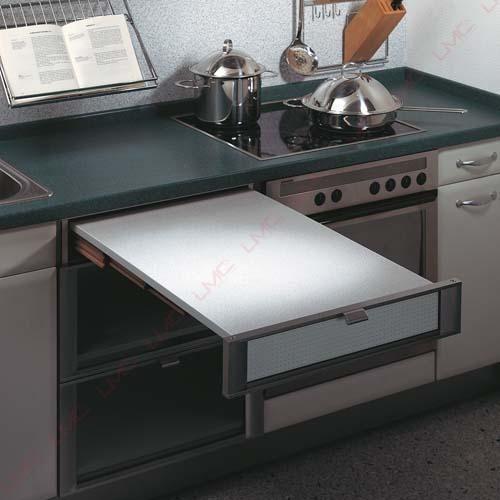 Table tiroir coulissante Idee per la casa Pinterest Plan de - installation plan de travail cuisine
