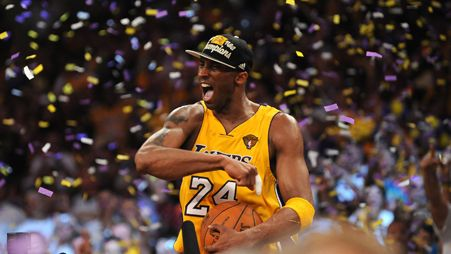 Lakers win 2010 NBA Finals with an epic Game 7 victory over the Celtics