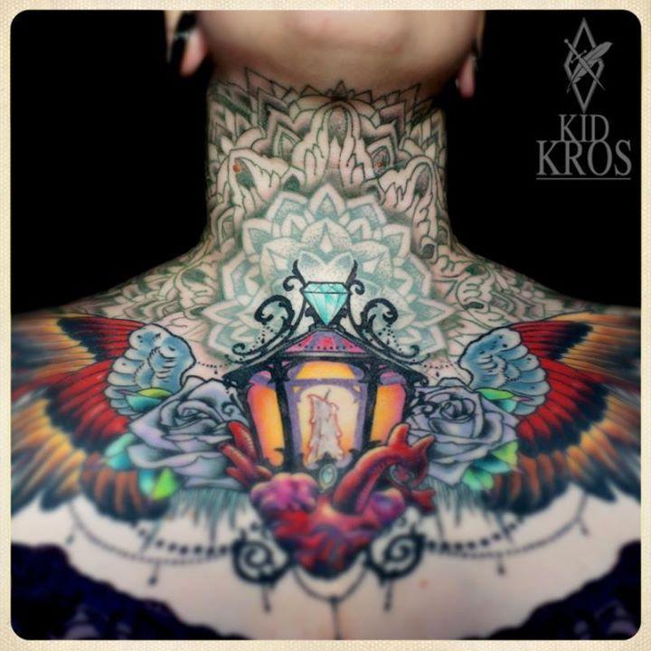 Amazing tattoos by Kid-Kros   KoiKoiKoi
