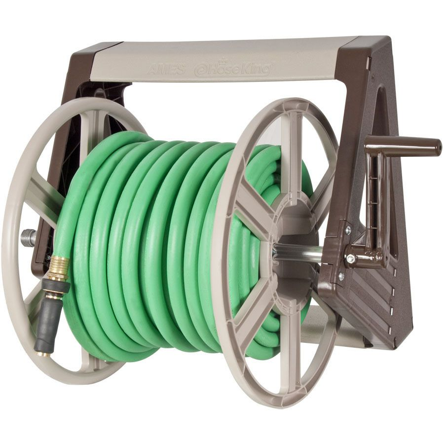 Shop Neverleak By Ames Plastic 225 Ft Wall Mount Hose Reel At Lowes Com Lowes Home Improvements Hose Reel Home Improvement