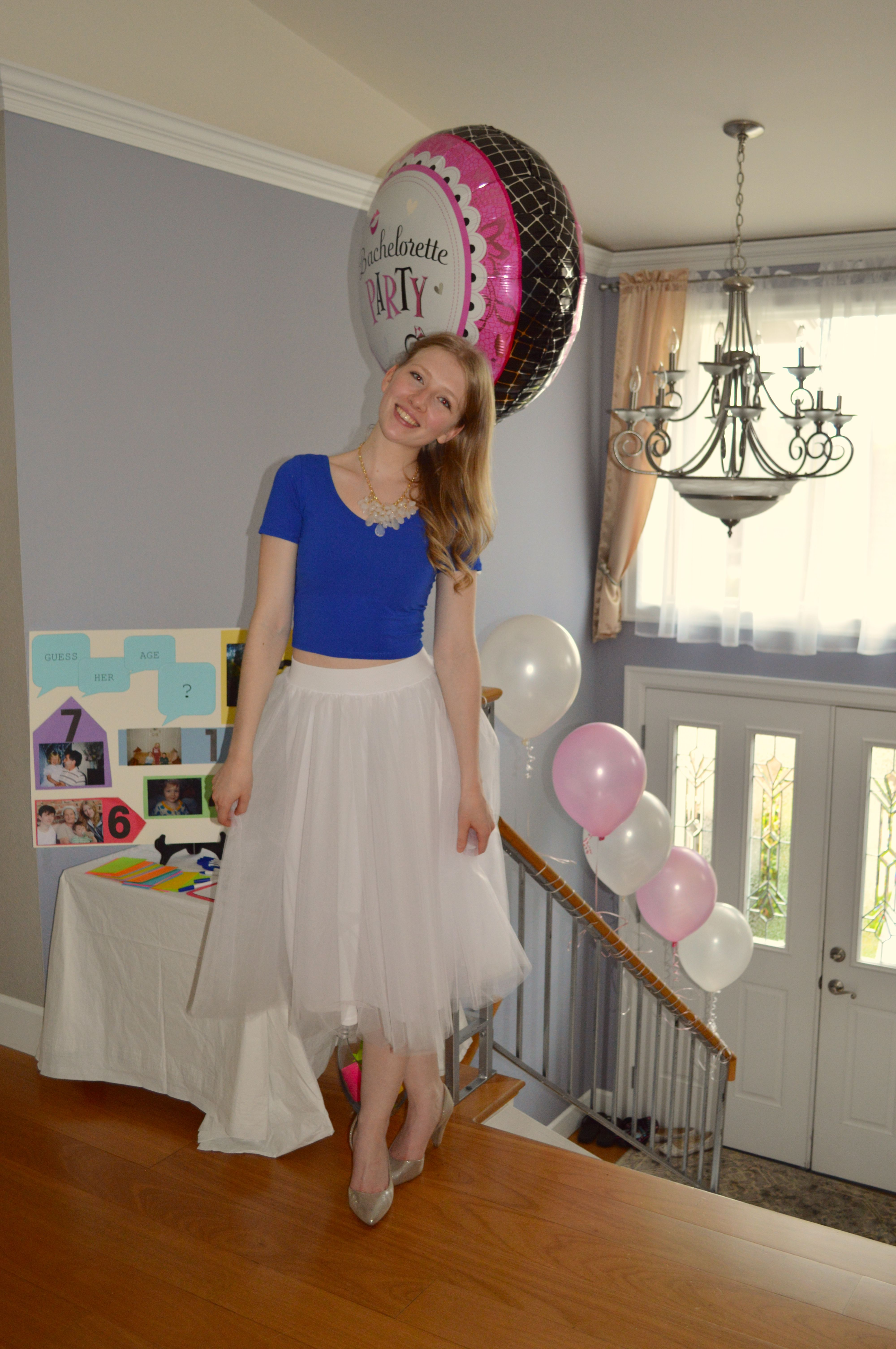 My Bridal shower outfit! comfy and cute! ;)