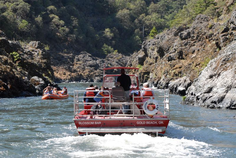 Rogue River Jet Boat Cruise Gold Beach Oregon