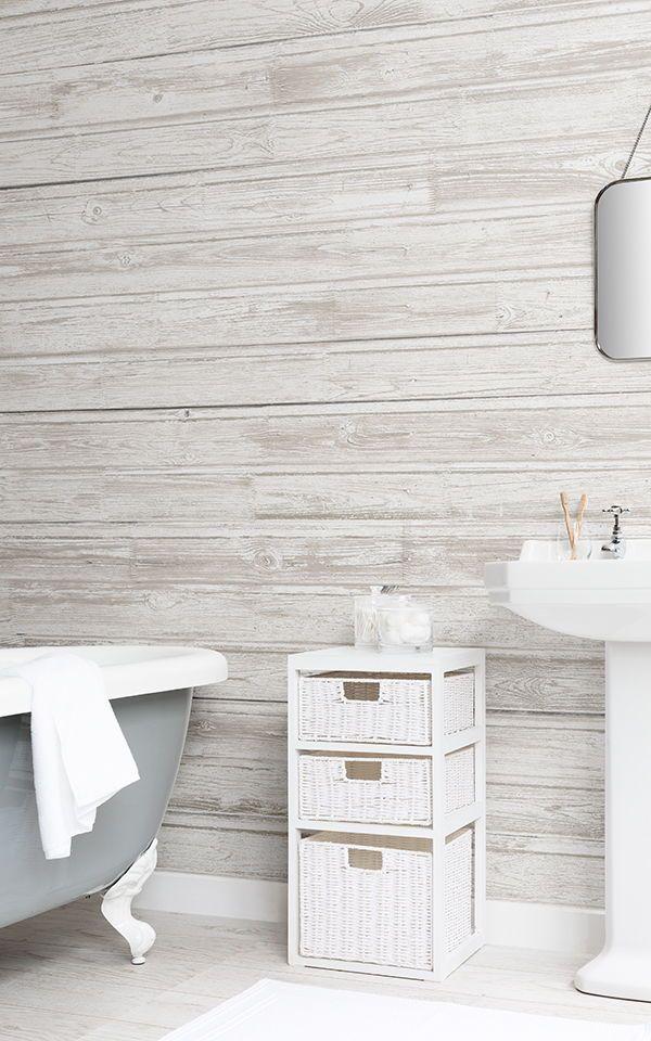 Light Wood Effect Wallpaper Muralswallpaper Diseno De Interiores Decoracion De Unas Decoracion De Pared