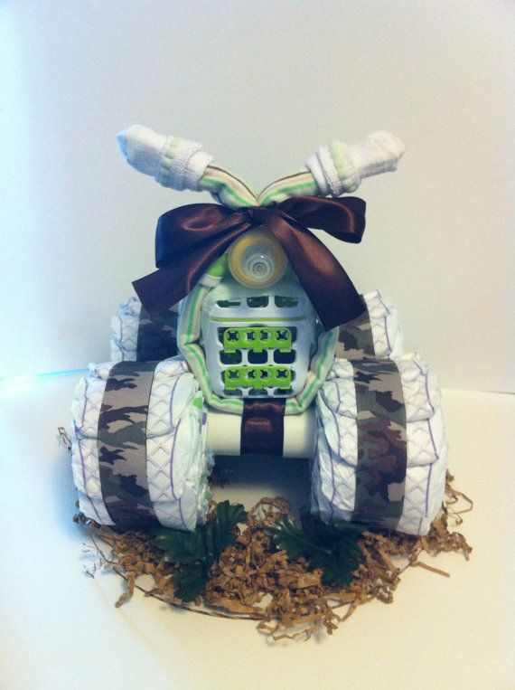 Hey, I found this really awesome Etsy listing at http://www.etsy.com/listing/117387714/luv-my-baby-4-wheeler-camouflage-diaper