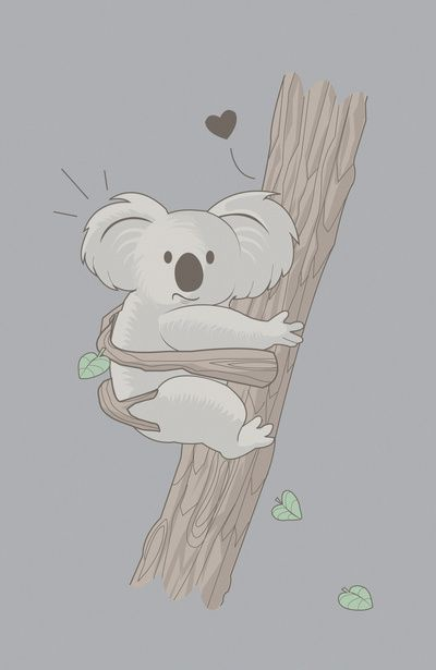 I Love You Too Humor Cute Koala Koala Kuties Koala