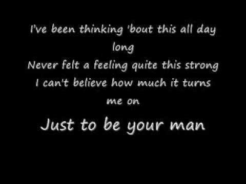 Your Man By Josh Turner Lyrics Ive Been Thinking Bout This