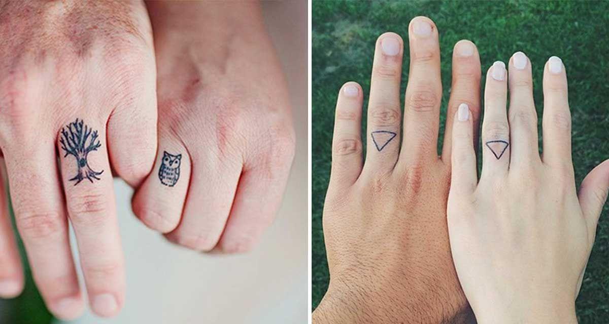 23 Parejas Que Escogieron Tatuajes En Lugar De Anillos De