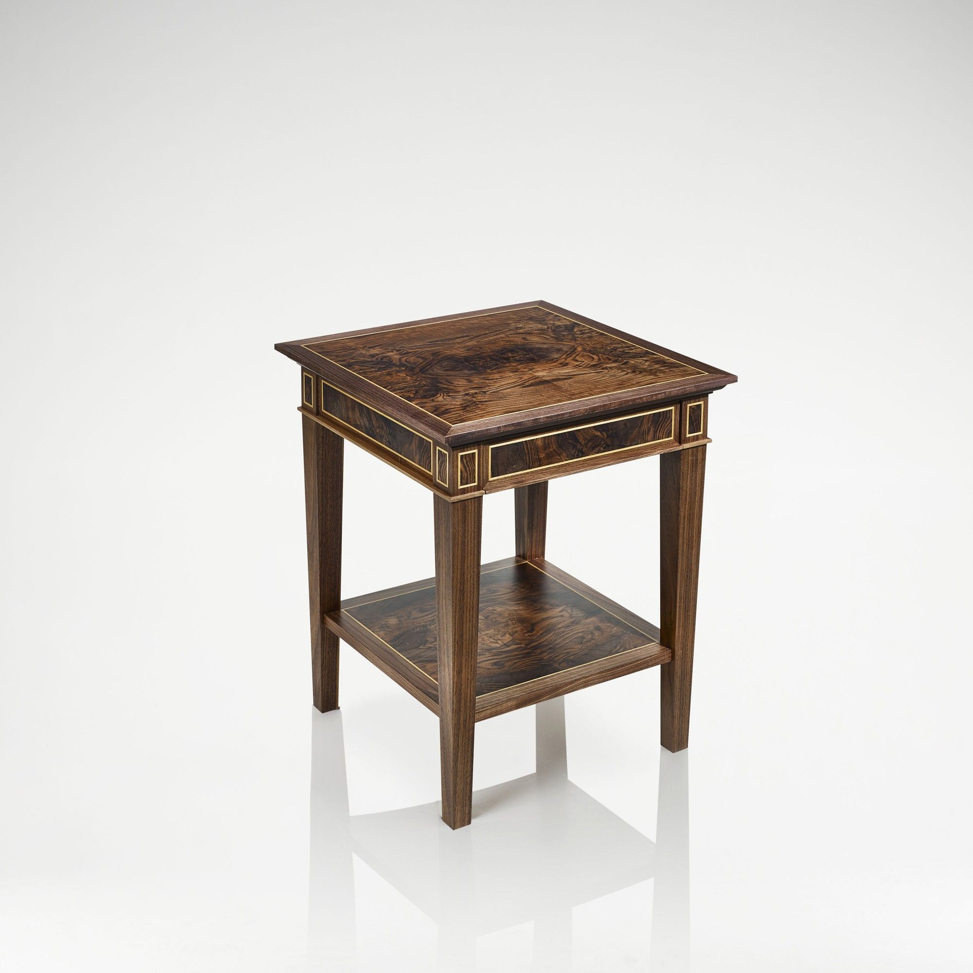Linley classic bedside table satinwood furniture pinterest