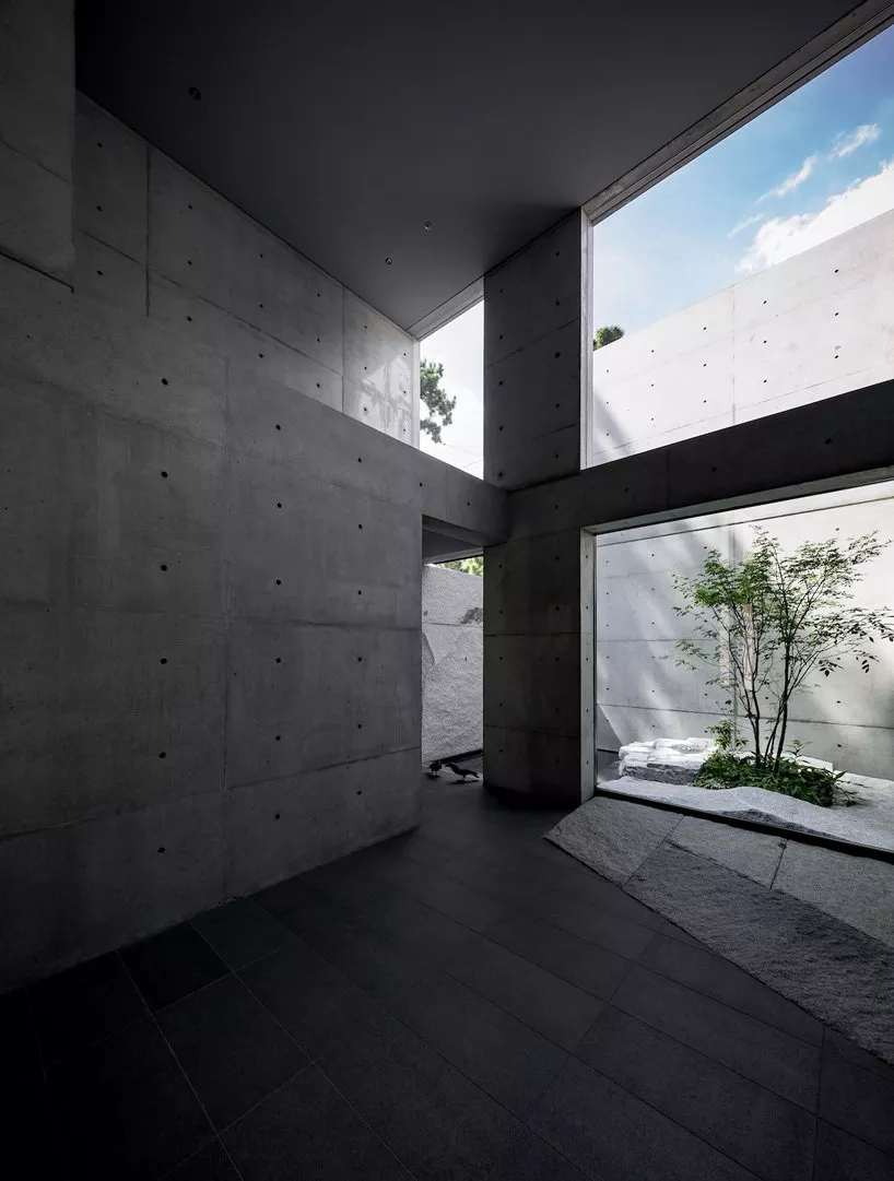 No frills Japanese house is an ode to concrete