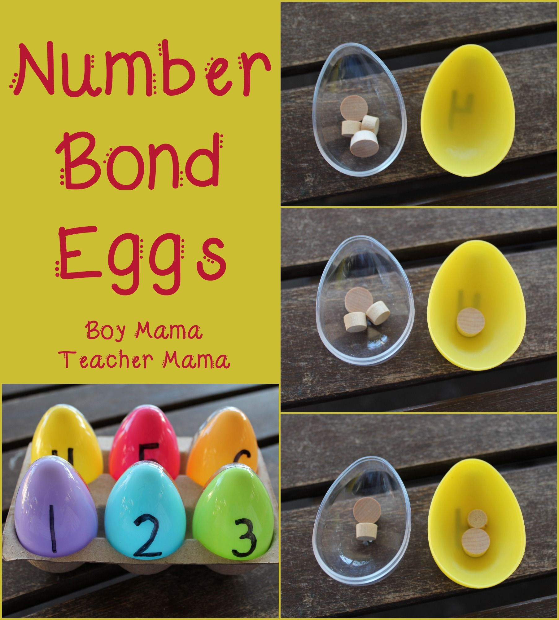 Teacher Mama Number Bonds Eggs