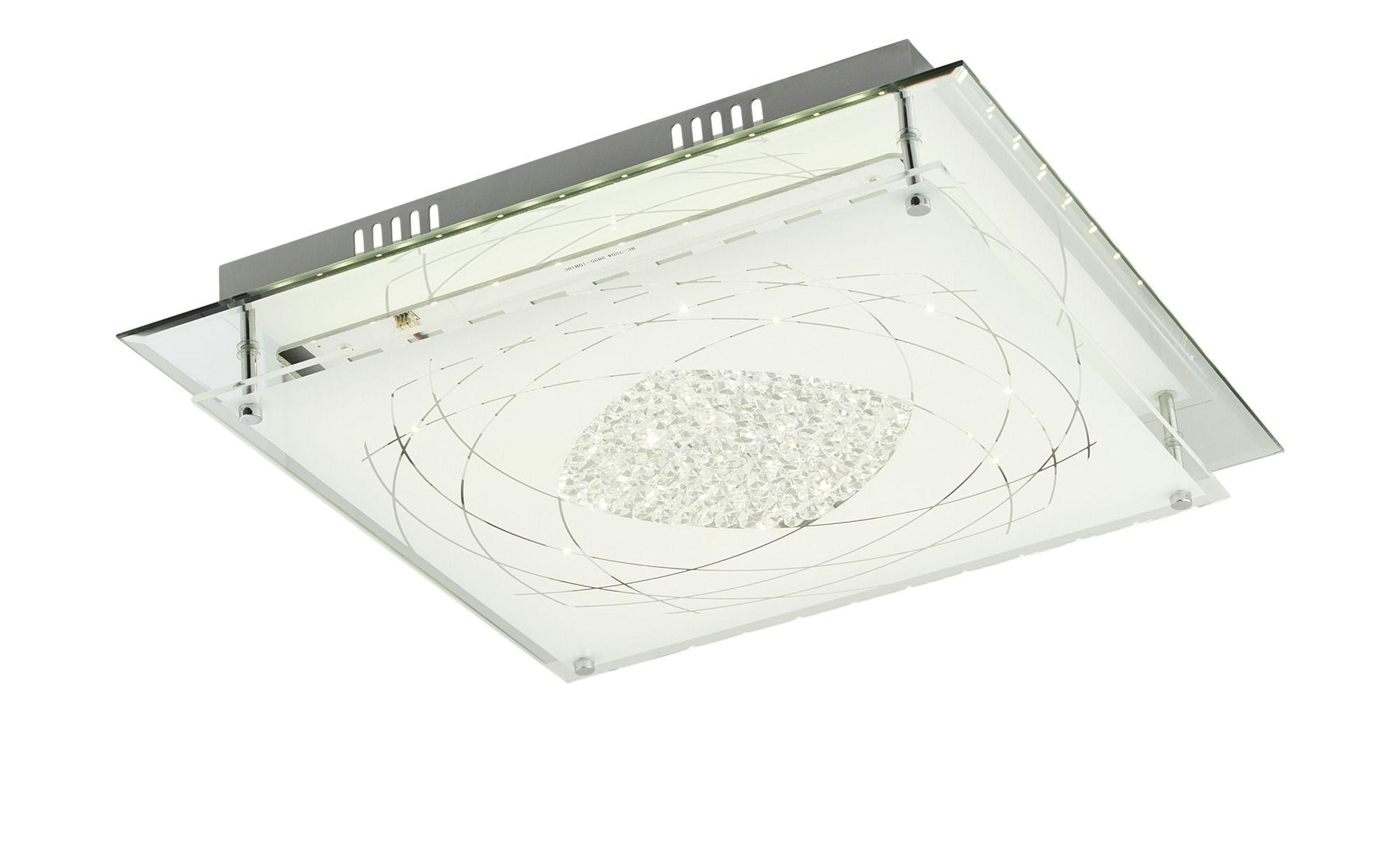 Khg Led Deckenleuchte Mit Verzierung Silber Masse Cm B 43 H 8 5 Lampen Leuchten Led Leuchten Led Deckenleuchte Led Deckenstrahler Deckenleuchten