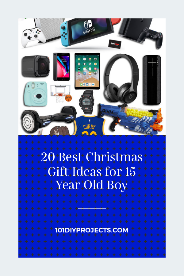 20 Best Christmas Gift Ideas for 15 Year Old Boy - Home DIY Projects Inspiration   DIY Crafts and Pa #christmasgiftideasforteens