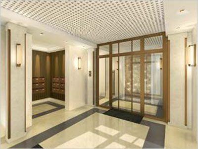 décoration hall entrée immeuble | Halls immeubles | Pinterest ...