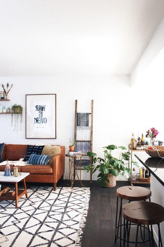 Wohnzimmer skandinavisch einrichten 22 Ideen für Hussensofa - wohnzimmer skandinavisch einrichten