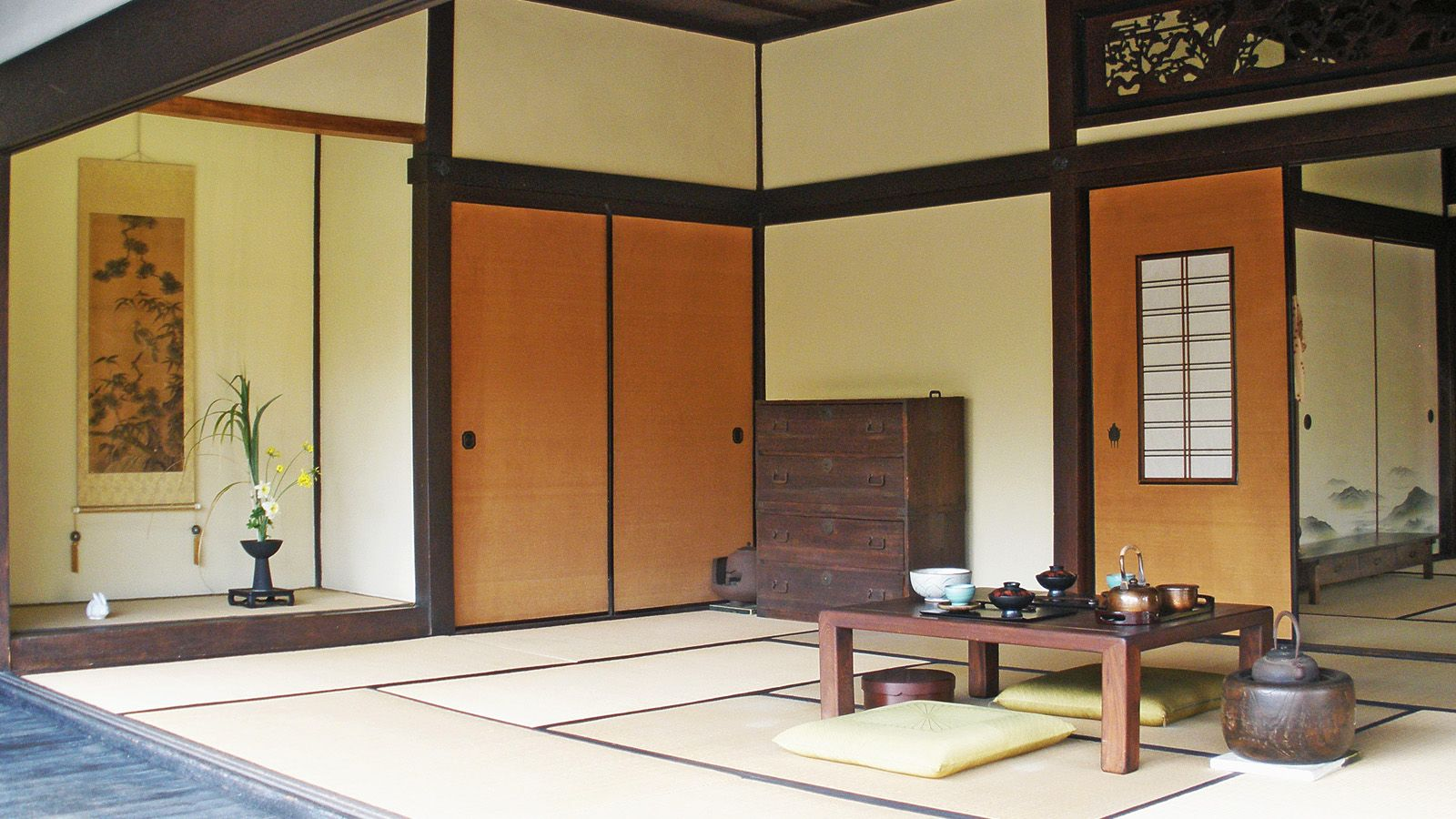 Traditional Japanese Room By Fritters Tra đạo Thiết Kế Thiết