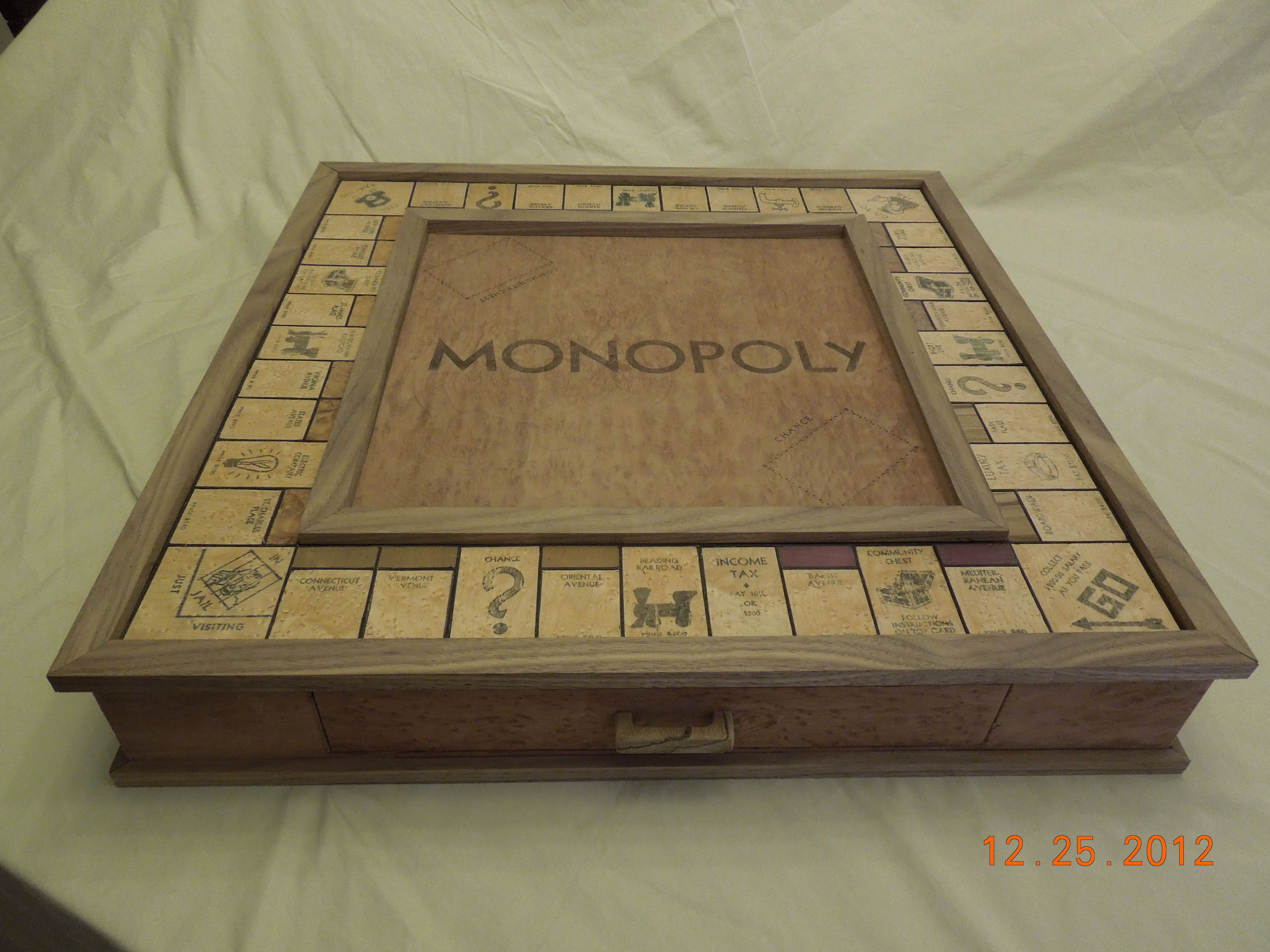 inlay monopoly board Google Search Projects Pinterest
