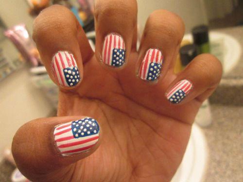 12 4 Juli Amerikanische Flagge Nageldesign Ideen 2017 Fourth