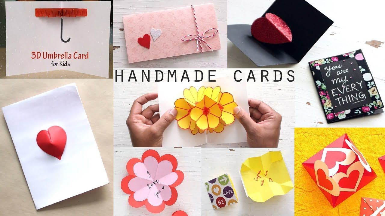 10 Stunning Diy Handmade Greeting Cards Paper Craft Ideas Paper Crafts Cards Cards Handmade Greeting Cards Handmade
