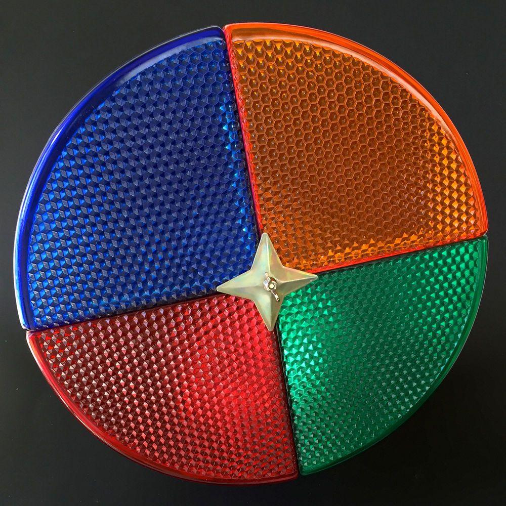 Vtg Color Wheel Penet Ray For Aluminum Christmas Tree Mid Century