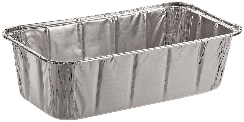 Safepro Foil Loaf Pan 2 Lb Case Of 100 Baking Foil Pans