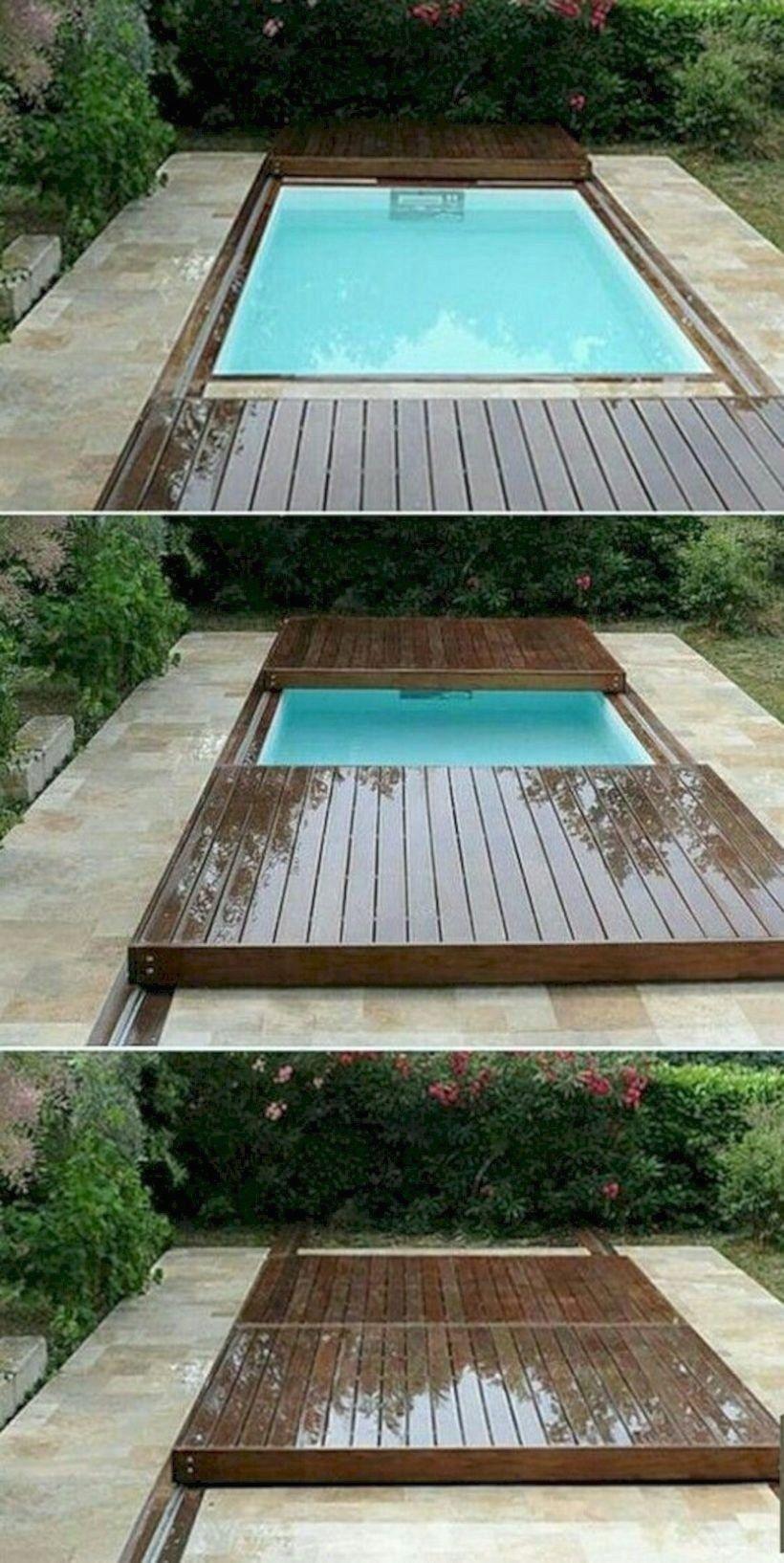 16 Decorating Tiny Pool on Your Backyard Garden - GODIYGO.COM - Modern Design