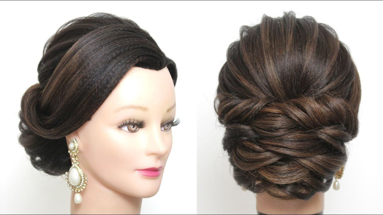Beautiful and easy hairstyle for party girl hair style simple