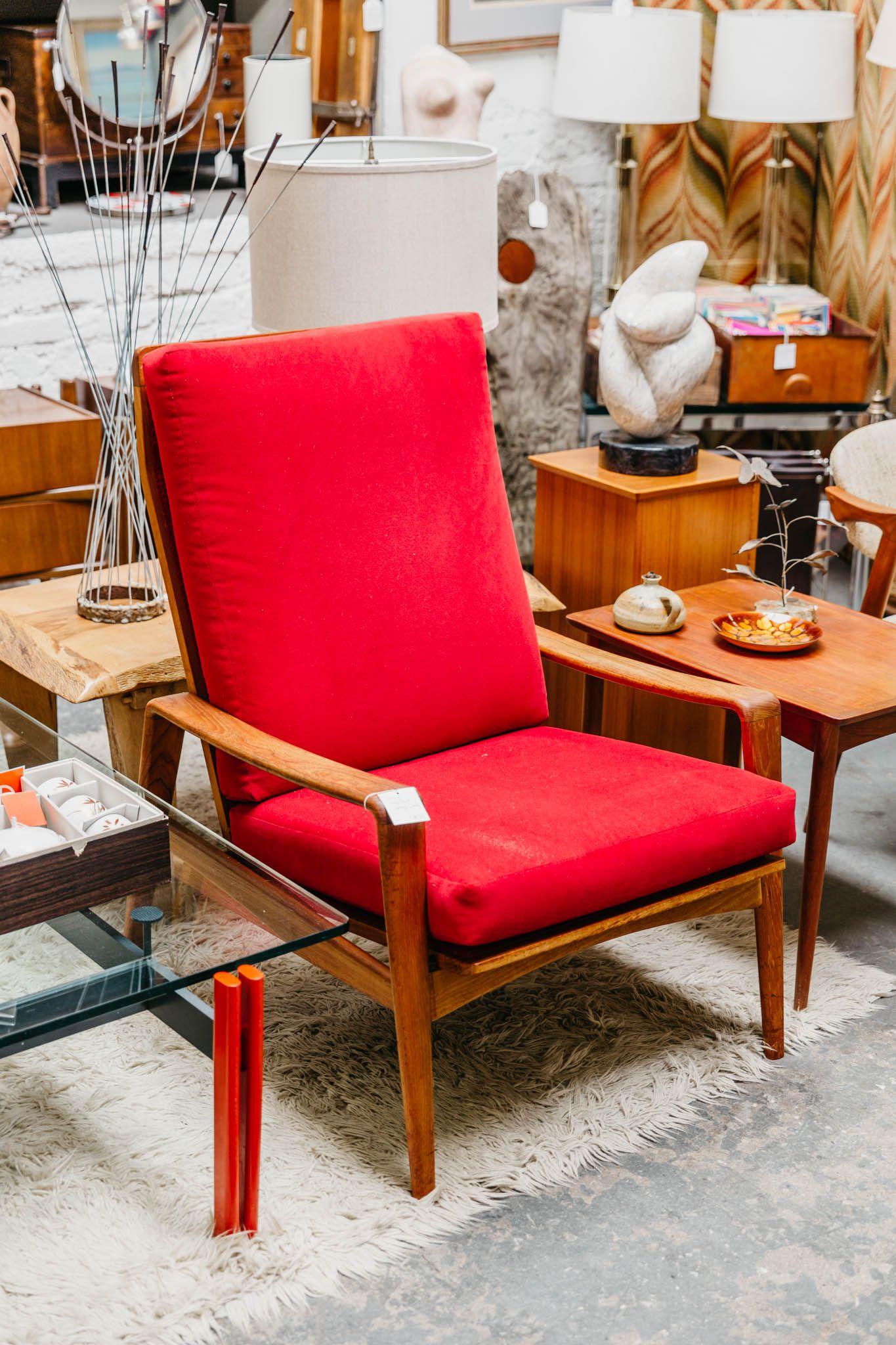Danish High Back Lounge Chair Furniture Chair Home Decor
