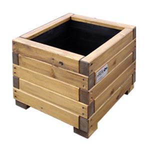 Macetero gigante madera buscar con google construir - Maceteros de madera ...