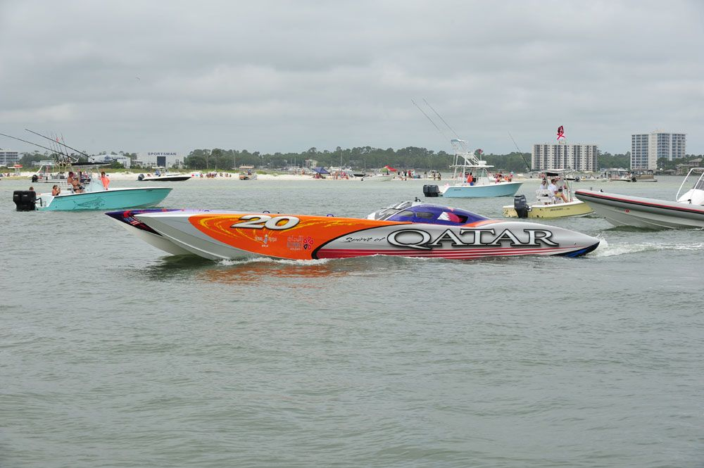 Thunder on the Gulf power boat races in Orange Beach