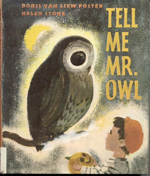 Owl Book Cover The Book