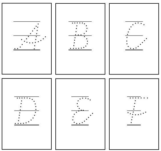 vereinfachte ausgangsschrift f rderschule schreibschrift und legasthenie. Black Bedroom Furniture Sets. Home Design Ideas