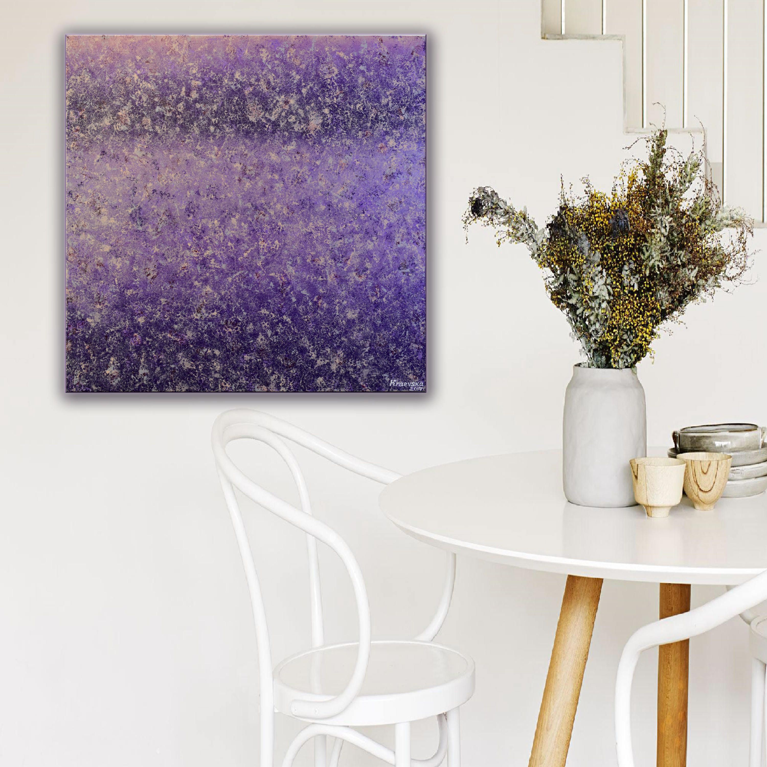 Canvas Paintings Lilac Painting On Canvas Painting Gift For Mom Art For Home Living Room Decor Modern Art C Lilac Painting Neutral Wall Art Purple Art Abstract