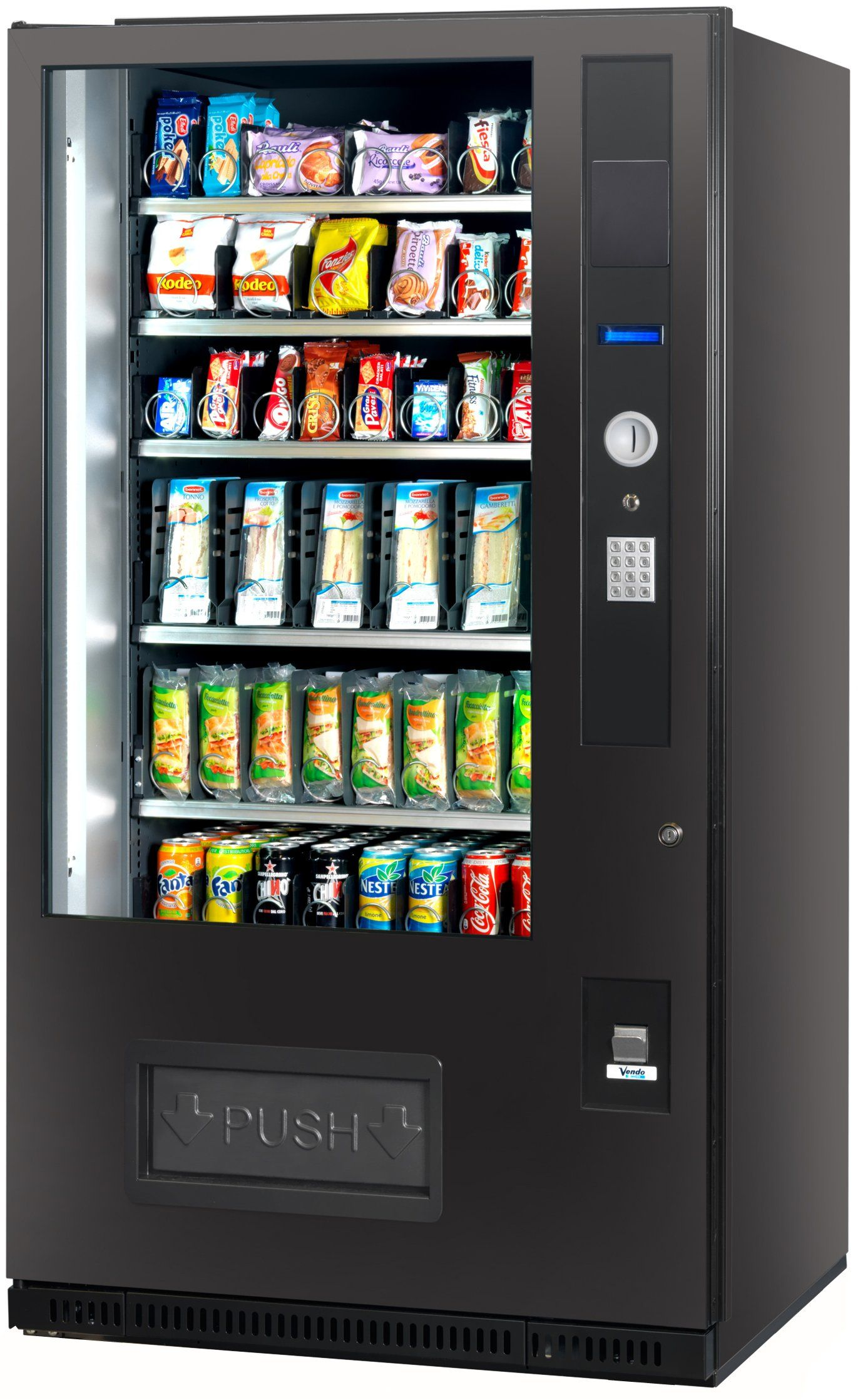 Buy Every Kind Of Drink From Vending Machines