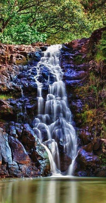 Waimea Falls on the North Shore of Oahu Hawaii