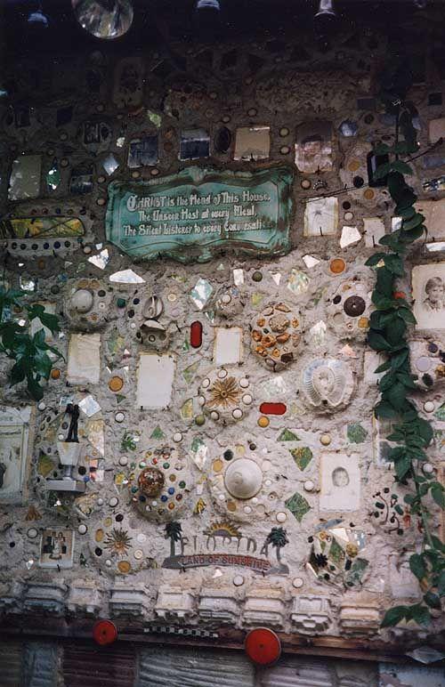 Howard Finster 39 S Paradise Garden Wall Outsider Art Pinterest Paradise Outsider Art And